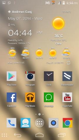 Tambahkan Blur Effect Untuk Setiap Wallpaper Untuk Android_E