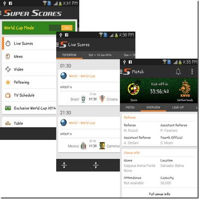 Aplikasi Android Melihat Live Score Sepakbola Piala Dunia 2014_B