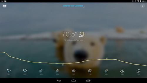 Aplikasi Dan Widget Ramalan Cuaca Terbaik Gratis Android_C