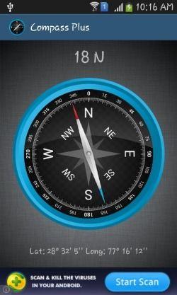 Aplikasi Kompas Penunjuk Arah Offline Gratis Untuk Android_C