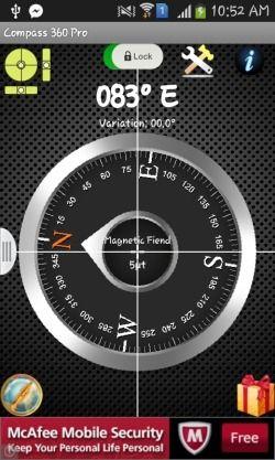 Aplikasi Kompas Penunjuk Arah Offline Gratis Untuk Android_D