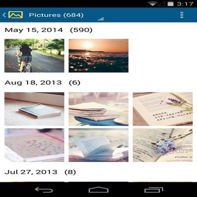 Aplikasi Pengelola File Dan Sisa Memori Tomi File Manager_B