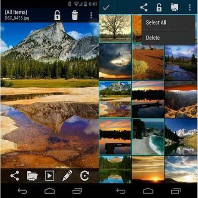 Cara Menyembunyikan File Video Dan Foto Android Terbaik_E
