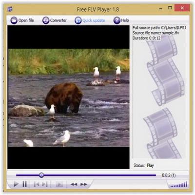Daftar Player Video FLV Flash Player Gratis untuk Windows_B