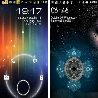 Lock Screen Gratis Pengganti Tampilan Layar Untuk Android_F