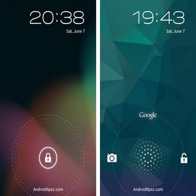 Lock Screen Gratis Pengganti Tampilan Layar Untuk Android_H