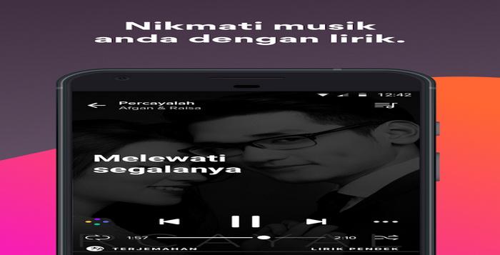 4 Aplikasi Musik Android Yang Menampilkan Lirik Lagu Terbaik