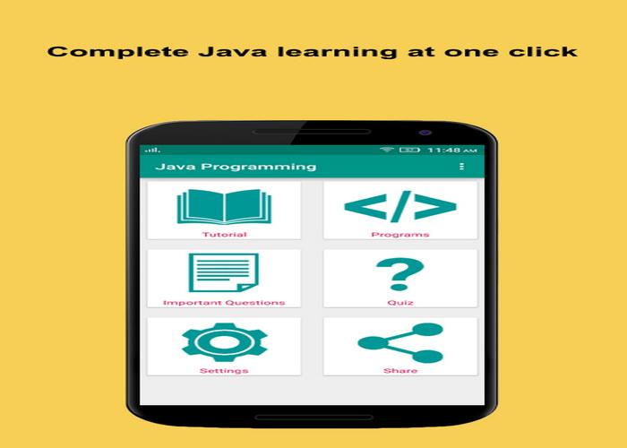 5 Aplikasi Android Gratis Belajar Bahasa Pemrograman Java-C