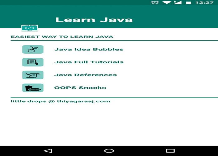 5 Aplikasi Android Gratis Belajar Bahasa Pemrograman Java-E