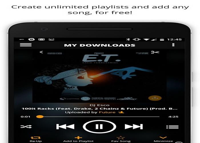 5 Aplikasi Android Terbaik Untuk Download Gratis Musik MP3-D