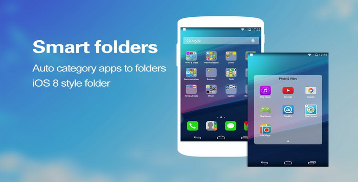5 Aplikasi Launcher iOS 8 Gratis Dan Terbaik Untuk Android
