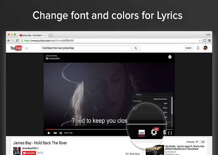 5 Aplikasi Lirik Lagu Video Youtube Dengan Browser Chrome-A