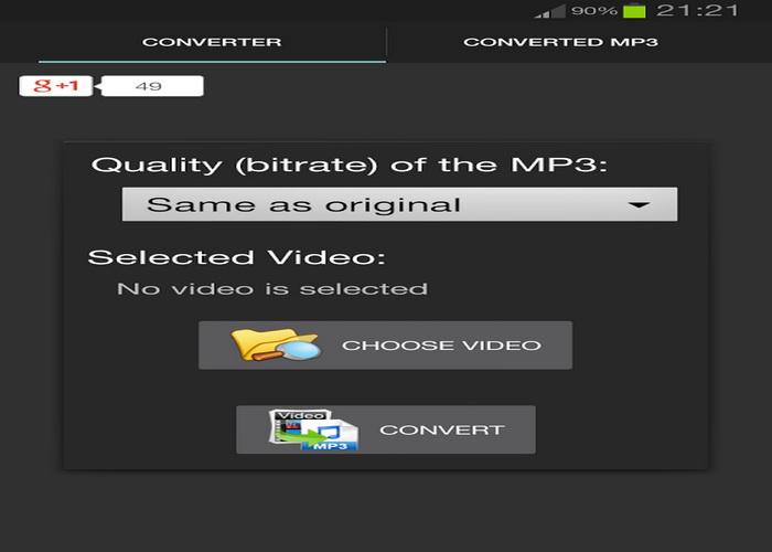 5 Gratis Aplikasi Android Mengubah Video Menjadi Audio MP3-B
