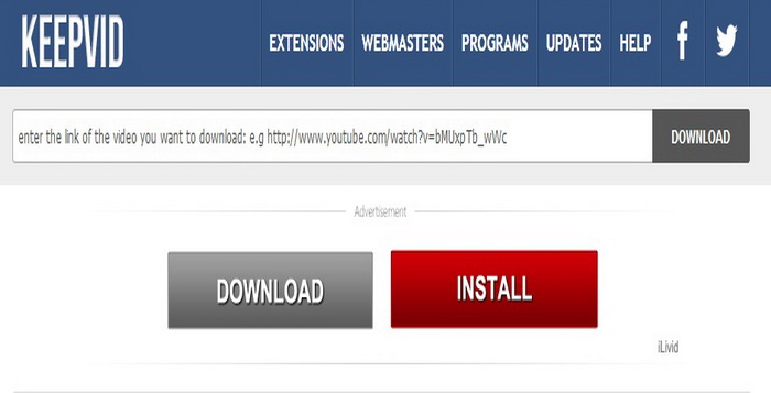 Alternatif Terbaik Seperti Keepvid Download Video Online