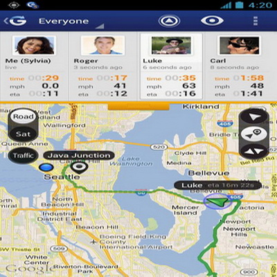 Gps Tracker Di Android