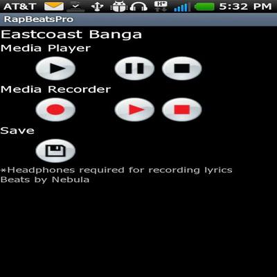 Aplikasi Android Gratis Menciptakan Musik Rap Online_B