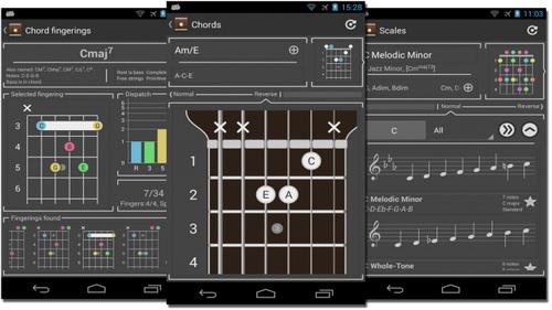 Aplikasi Belajar Instrumen Gitar Terbaik Gratis Untuk Android_B