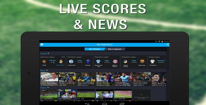 Aplikasi Berita Dan Live Score Sepak Bola Untuk Android 2015