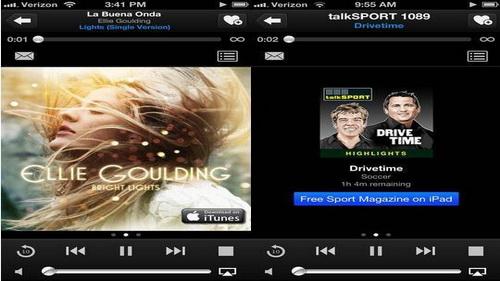 Aplikasi FM Radio Streaming Online iPhone 5_E