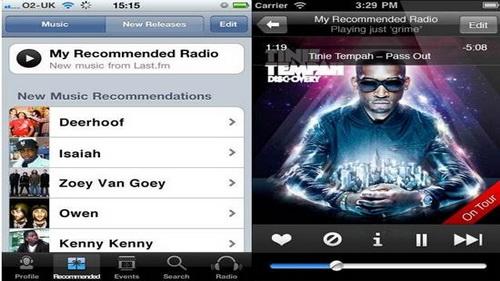 Aplikasi FM Radio Streaming Online iPhone 5_H