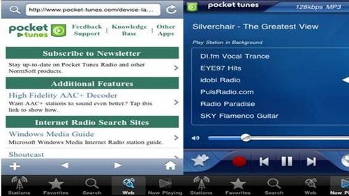 Aplikasi FM Radio Streaming Online iPhone 5_I