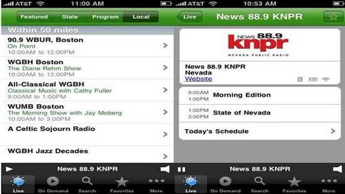 Aplikasi FM Radio Streaming Online iPhone 5_J
