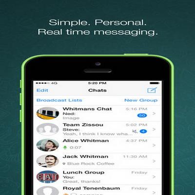 Aplikasi Pesan Teks SMS Chatting Terbaik iPhone 2014_G