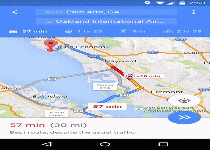 Aplikasi Petunjuk Arah Android Fitur Navigasi Dan Peta 2016-C