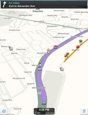 Aplikasi Waze Lalu Lintas Navigasi GPS Untuk Android iPhone_A