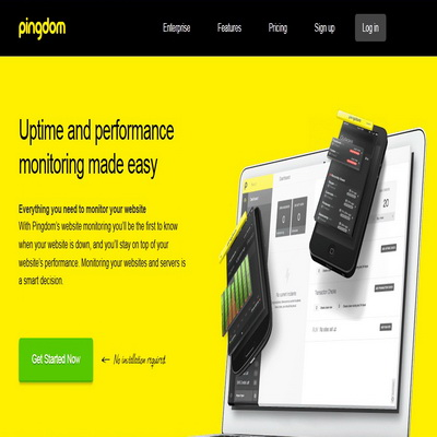 Aplikasi Website Untuk Monitoring Uptime Downtime Website_A