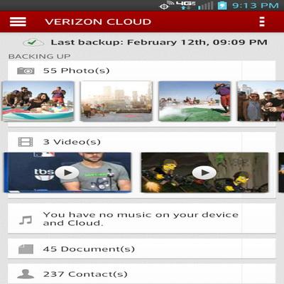 Backup Daftar Kontak Ponsel Verizon Cloud Untuk Android_B