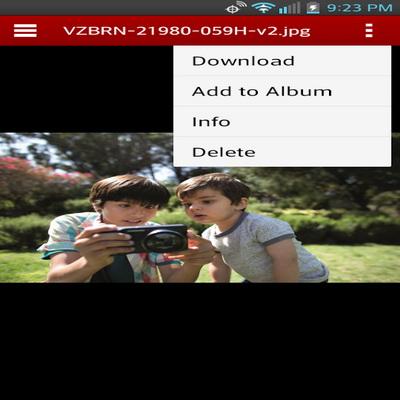 Backup Daftar Kontak Ponsel Verizon Cloud Untuk Android_F