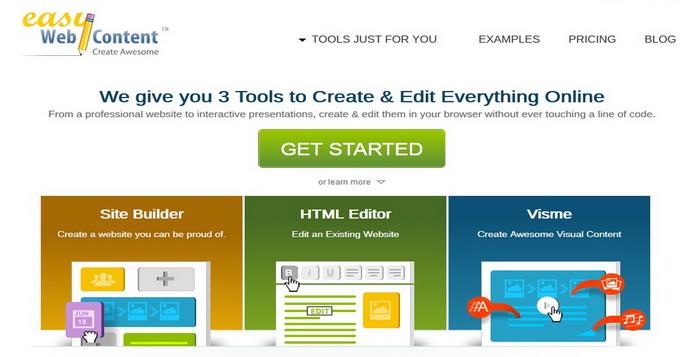 Easywebcontent - Mengedit Website Online Dengan HTML Editor Mudah