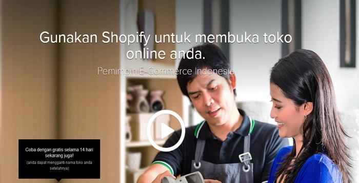 Membuat Toko Online eCommerce Lengkap Dan Murah Dengan Shopify