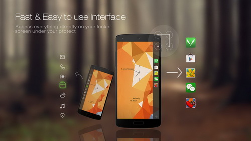 Mengubah Tampilan Layar Android Dengan Locker Master_C