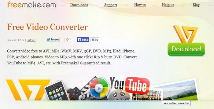 Review Freemake Video Converter Gratis & Terbaik Untuk Windows