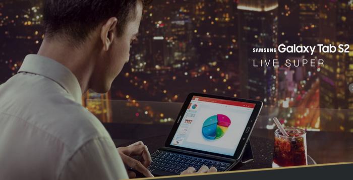 Review Spesifikasi Samsung Galaxy Tab S2 - SM-T715 Android