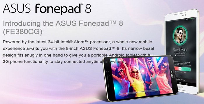 Review Spesifikasi Tablet Asus Fonepad 8 FE380CG Android