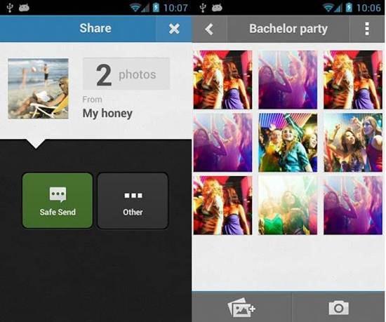 Sembunyikan foto video Android keepSafe Vault_B