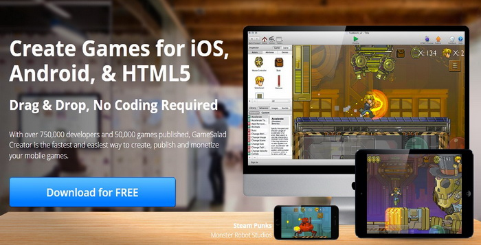 Software Atau Aplikasi Gratis Dan Mudah Pembuat Game