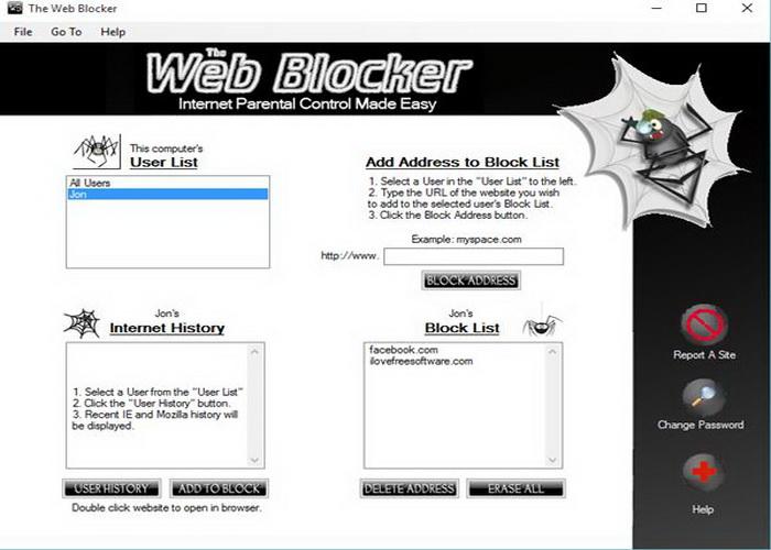 Software Blokir Situs Web Dengan Black List Untuk Windows 10-A