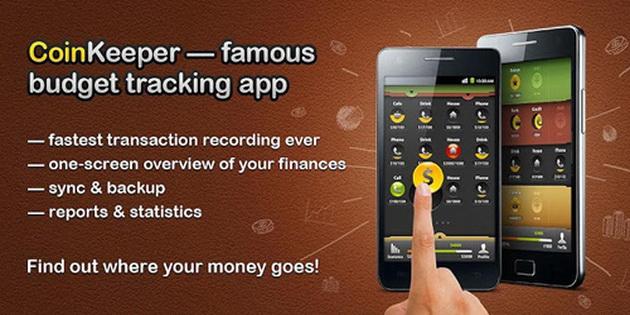 Aplikasi Android Untuk Mengelola Keuangan coinkeeper