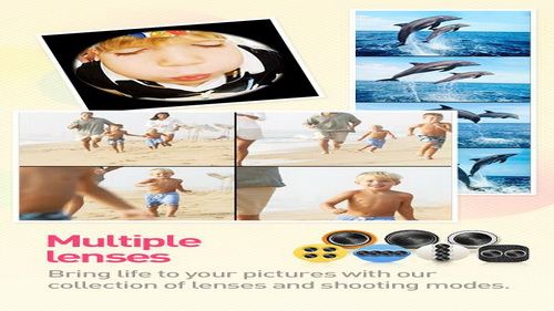 Mengambil Foto Aplikasi Kamera Android Cymera_G