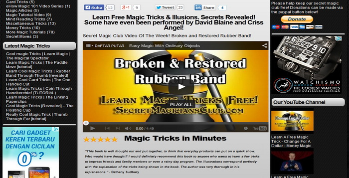 5 Website Online Untuk Belajar Trik Dan Teknik Sulap Gratis_E