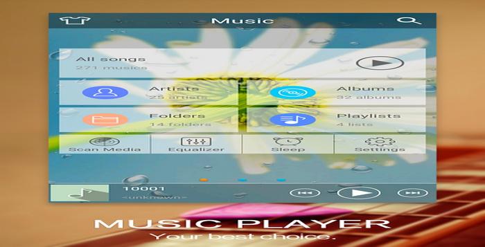 5 Aplikasi Pemutar Musik Ukuran Kecil Dan Minimalis Android