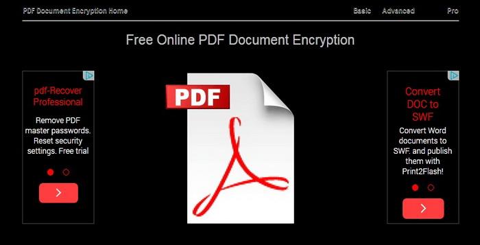 Membuat File PDF Enkripsi Atau Password Secara Online Encryptpdf